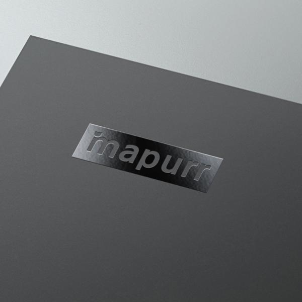 로고 디자인   Mapurr (맵퍼)   라우드소싱 포트폴리오