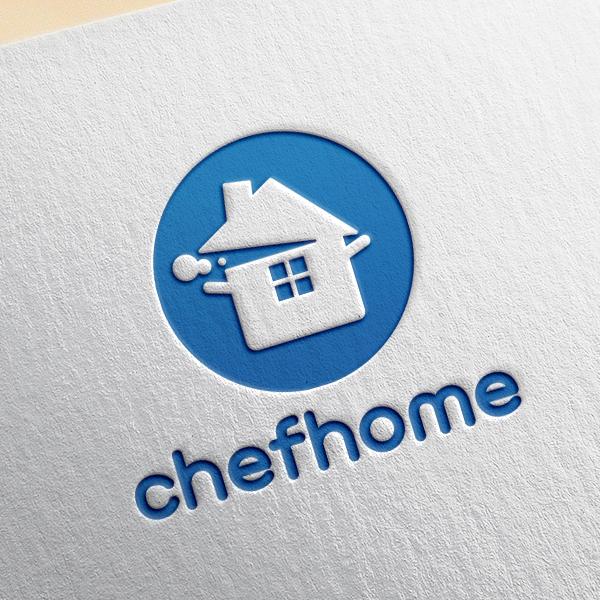 로고 디자인 | 쉐프홈 로고 디자인 | 라우드소싱 포트폴리오