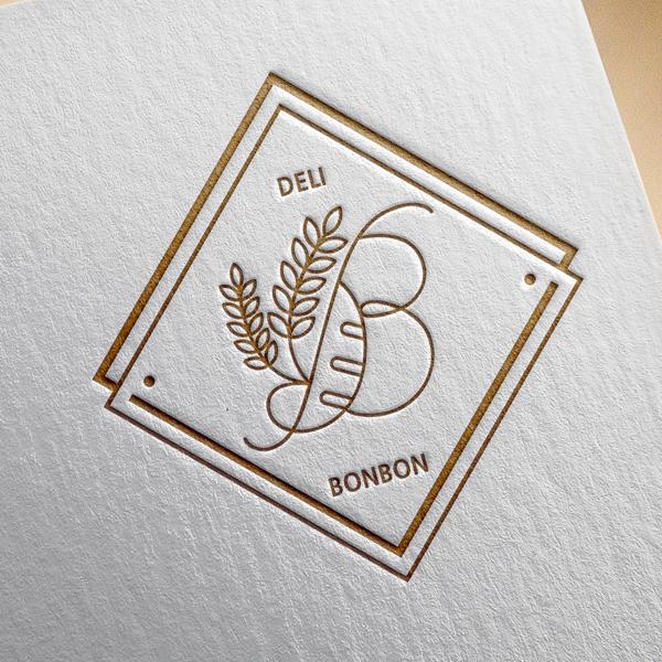 로고 + 간판 | 델리 봉봉 (Deli bonbon) | 라우드소싱 포트폴리오