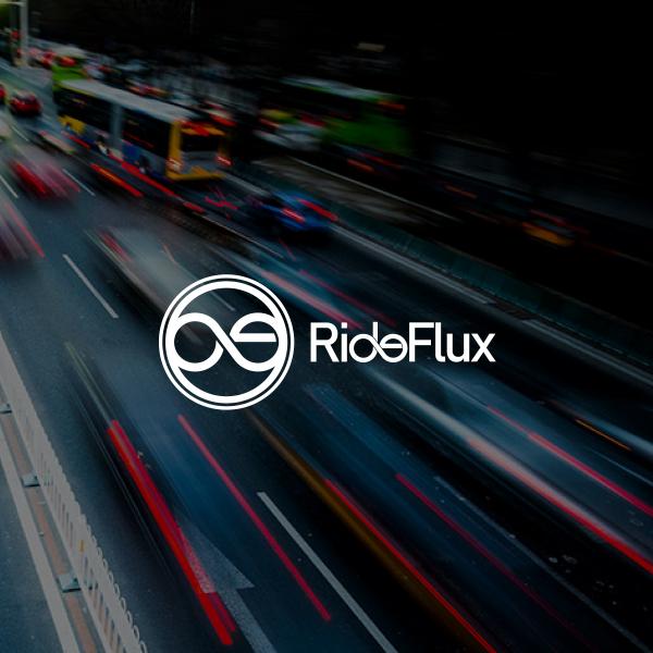 로고 디자인 | RideFlux (라이드플럭스) | 라우드소싱 포트폴리오