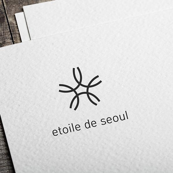 로고 디자인 | 화장품 회사 에투알드서울... | 라우드소싱 포트폴리오