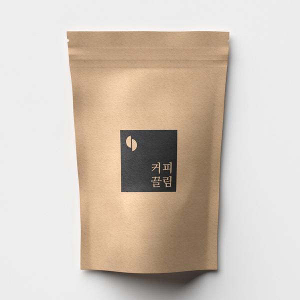 로고 디자인 | (주)커피끌림 | 라우드소싱 포트폴리오