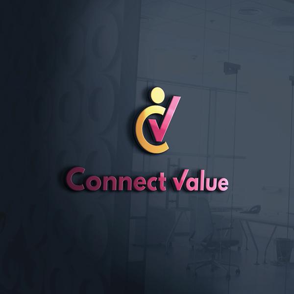 로고 디자인 | 커넥트밸류(Connect... | 라우드소싱 포트폴리오