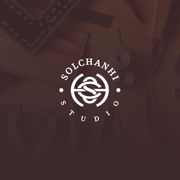 로고 + 명함 | (주)솔찬히작업실  | 라우드소싱 포트폴리오