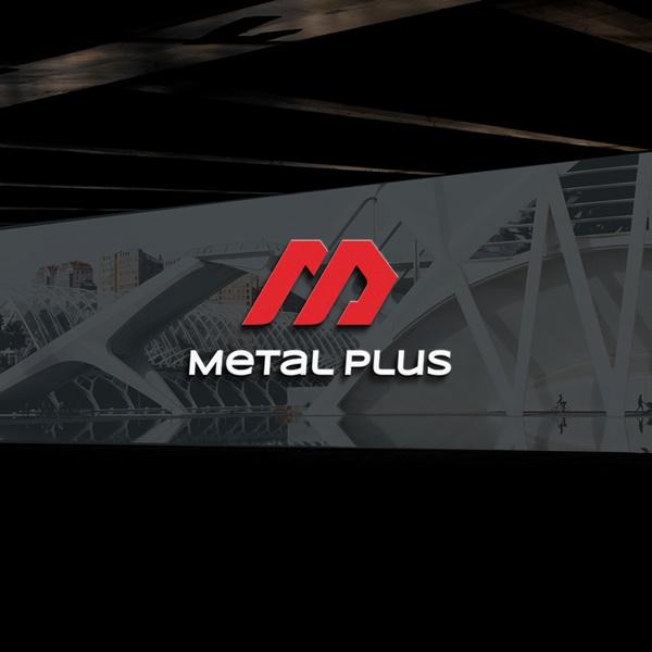 로고 + 명함 | Metal Plus | 라우드소싱 포트폴리오