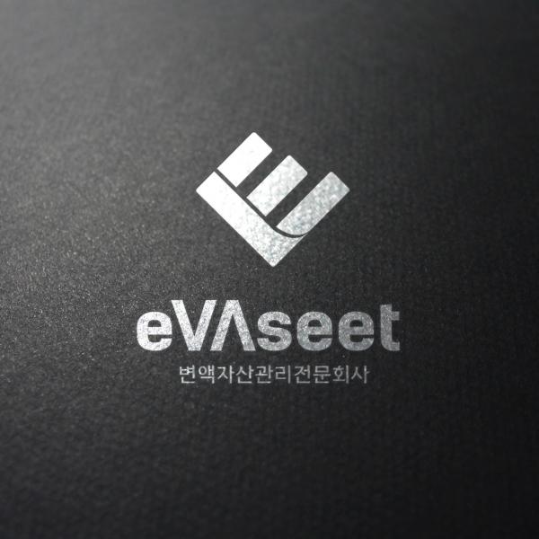 로고 + 명함 | 이브이에셋,eVAseet | 라우드소싱 포트폴리오