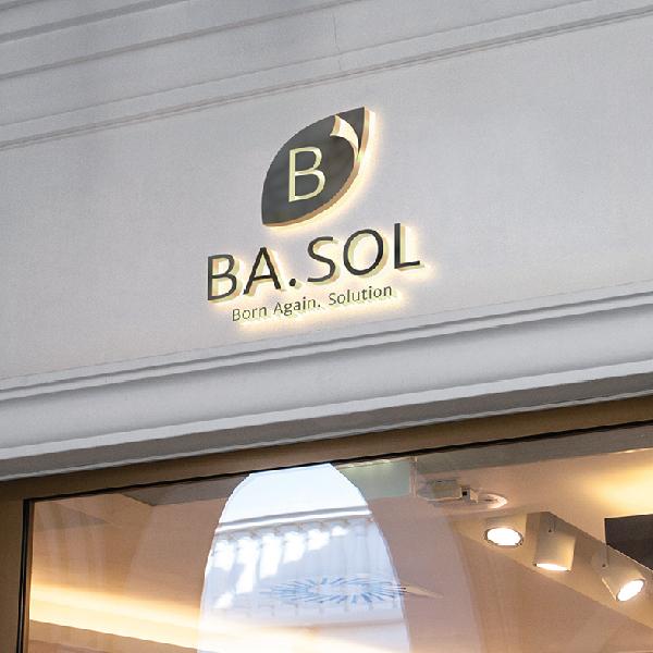 로고 디자인 | BA.SOL 로고 디자인 | 라우드소싱 포트폴리오