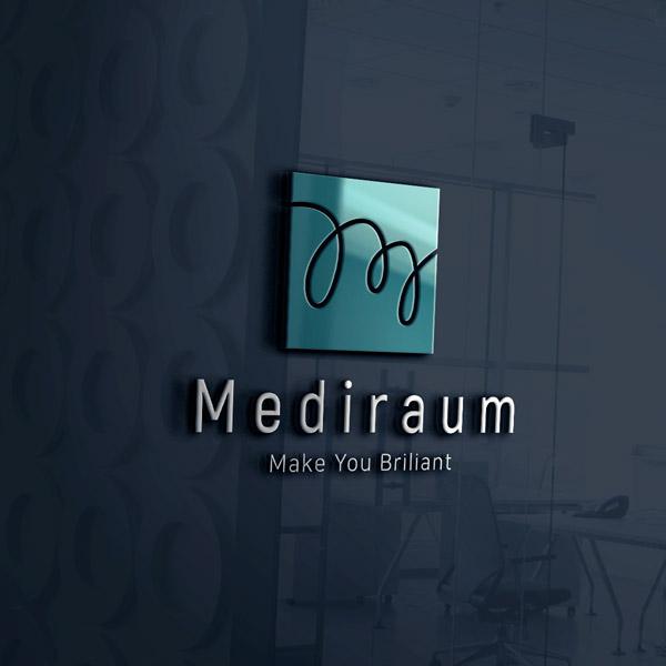 로고 디자인 | 메디라움(Mediraum)의원  | 라우드소싱 포트폴리오