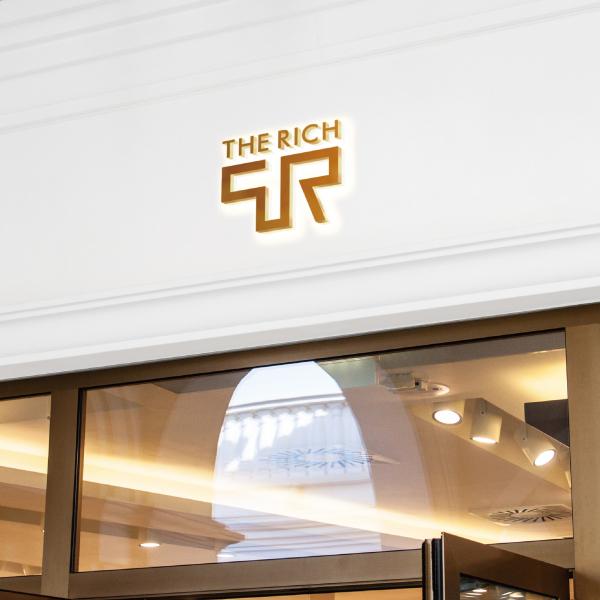 로고 + 명함 | The Rich | 라우드소싱 포트폴리오
