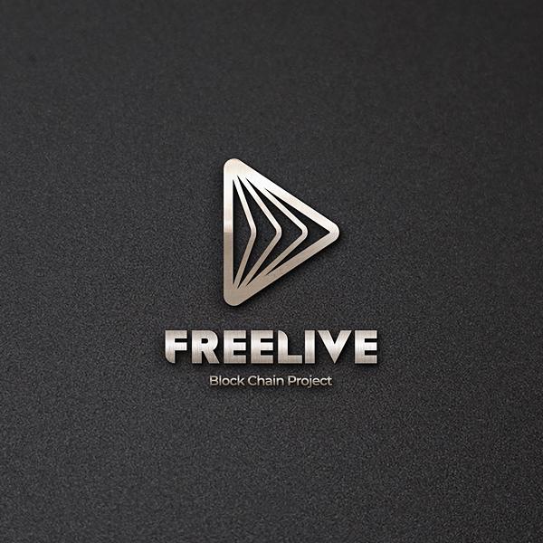 로고 + 명함 | FREELIVE(프리라이... | 라우드소싱 포트폴리오
