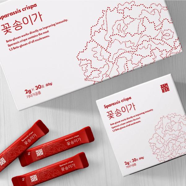 패키지 디자인 | 꽃송이 버섯 식품 패키지... | 라우드소싱 포트폴리오