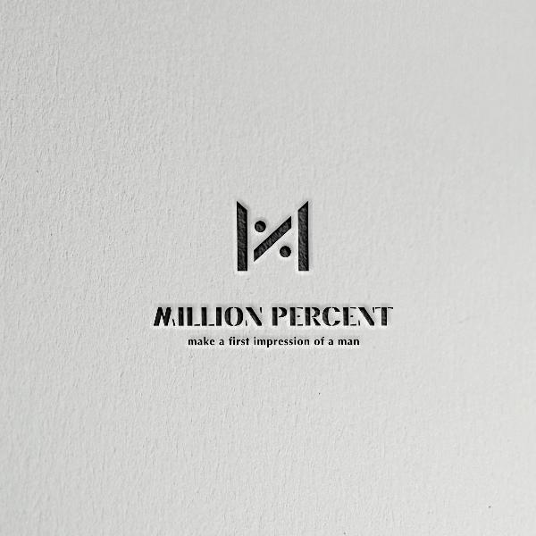 로고 + 명함   밀리언퍼센트   라우드소싱 포트폴리오