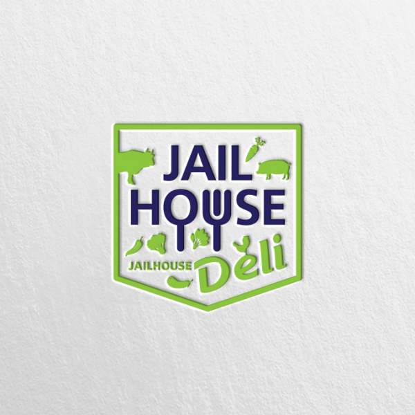 로고 디자인 | JAILHOUSE DELI | 라우드소싱 포트폴리오