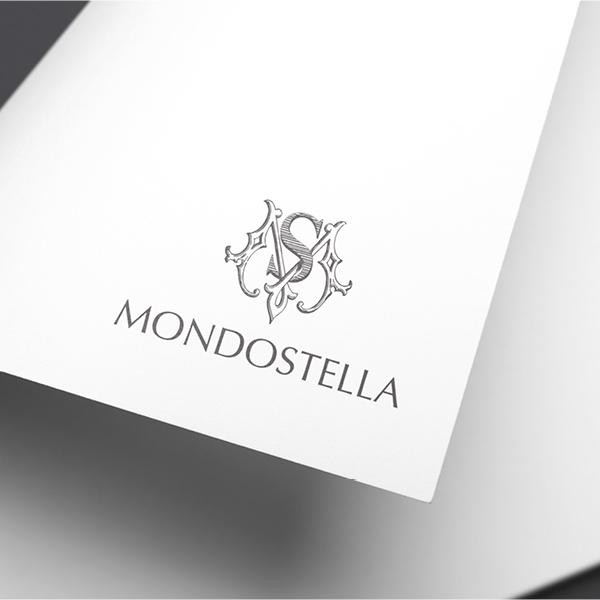 로고 + 명함   MONDOSTELLA(몬도스텔...   라우드소싱 포트폴리오