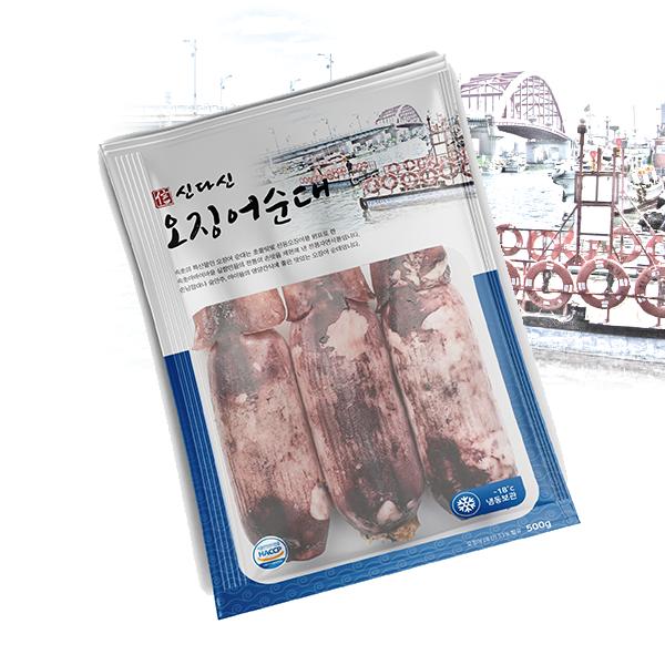 패키지 디자인 | 순대 포장비닐팩(냉동) | 라우드소싱 포트폴리오