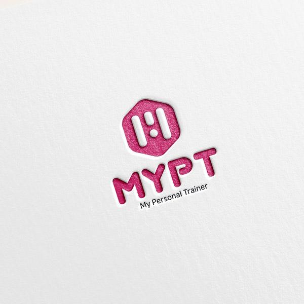 로고 디자인 | 1인 피티샵 마이피티 로... | 라우드소싱 포트폴리오