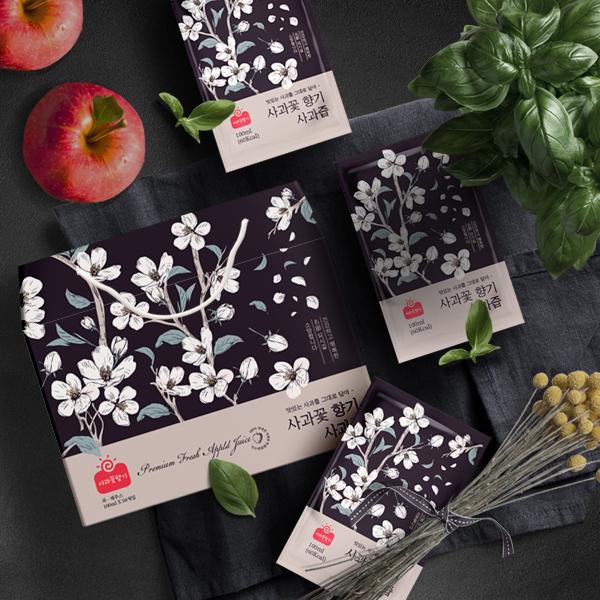패키지 디자인 | 사과꽃향기 향기 명절 선... | 라우드소싱 포트폴리오