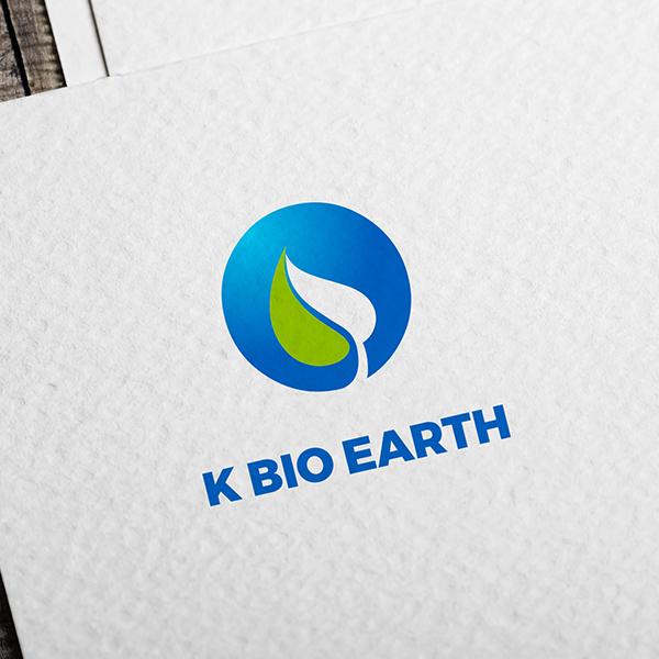 로고 디자인   K BIO EARTH    라우드소싱 포트폴리오