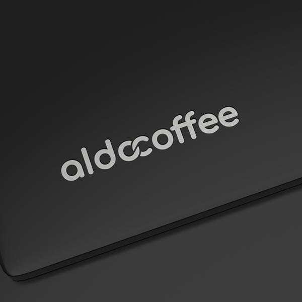 로고 디자인 | 알도커피팩토리 | 라우드소싱 포트폴리오