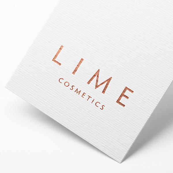 로고 디자인 | 라임코스메틱 브랜드 로고... | 라우드소싱 포트폴리오