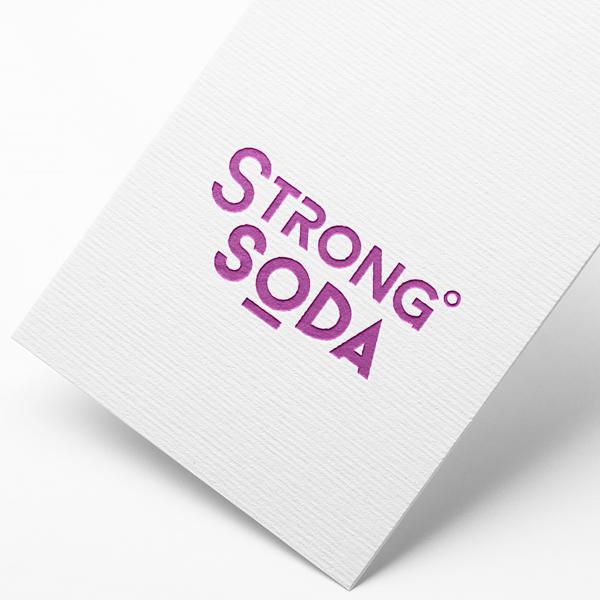 로고 디자인 | 스트롱소다 | 라우드소싱 포트폴리오