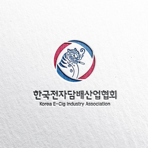 로고 디자인   한국전자담배산업협회 KECIA   라우드소싱 포트폴리오