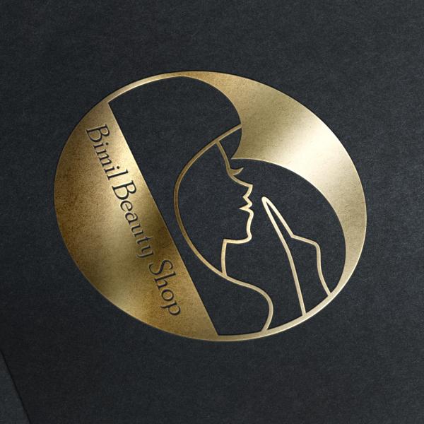 로고 + 간판 | Bimil beauty shop | 라우드소싱 포트폴리오