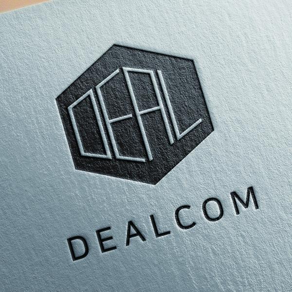 로고 + 명함   DEALCOM (딜컴)   라우드소싱 포트폴리오