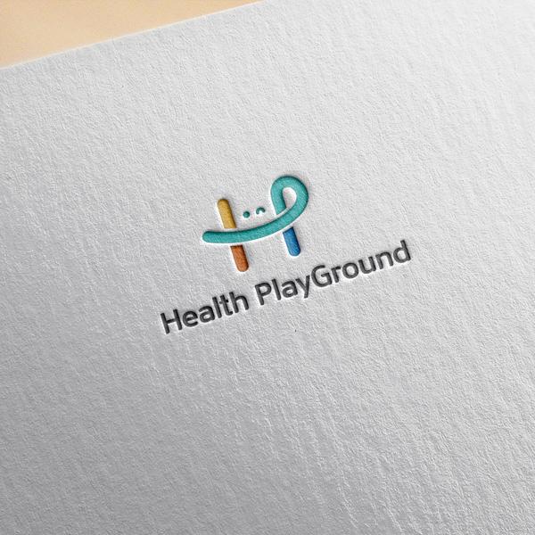 로고 디자인 | 헬스플레이그라운드 로고 ... | 라우드소싱 포트폴리오