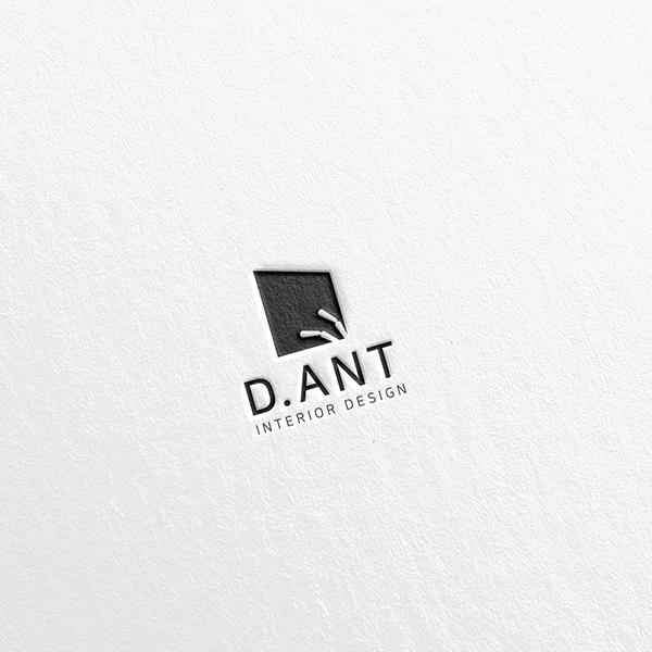 로고 + 명함   디앤트(D_ANT)   라우드소싱 포트폴리오