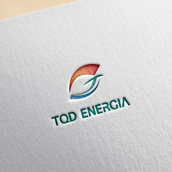 로고 + 명함 | (주)TQD에네르히아 | 라우드소싱 포트폴리오
