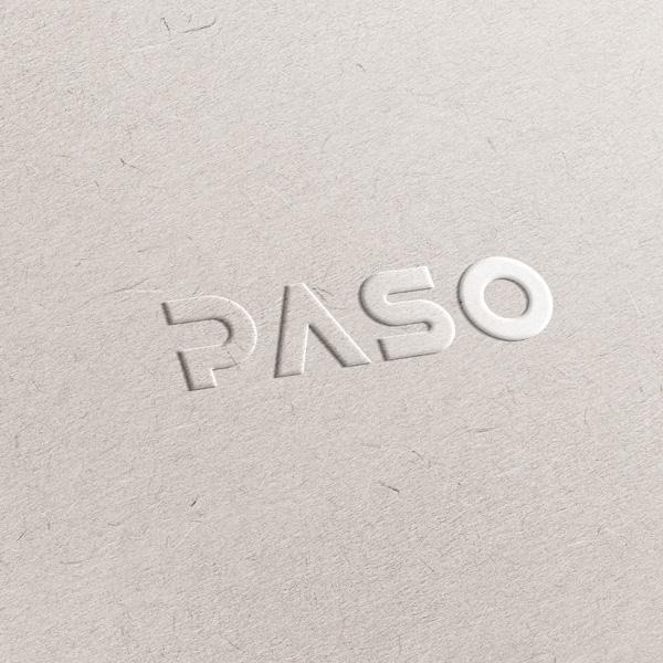 로고 디자인   PASO   라우드소싱 포트폴리오