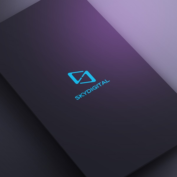 로고 디자인 | 스카이디지탈 로고 디자인 공모 | 라우드소싱 포트폴리오