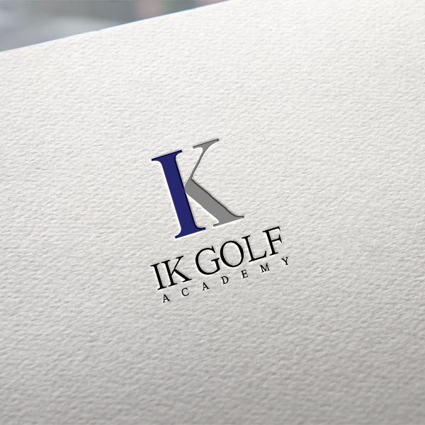 로고 + 간판   IK Golf Academy   라우드소싱 포트폴리오