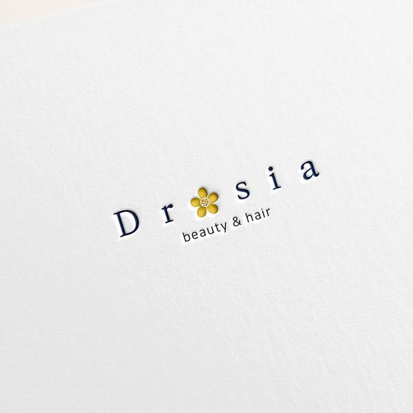 로고 + 명함 | 드로시아 로고 디자인 의... | 라우드소싱 포트폴리오