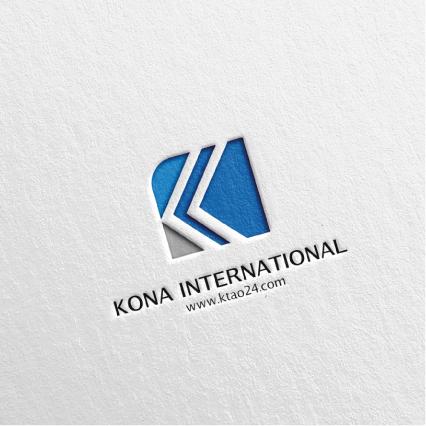 로고 디자인   KONA INTERNATIONAL   라우드소싱 포트폴리오
