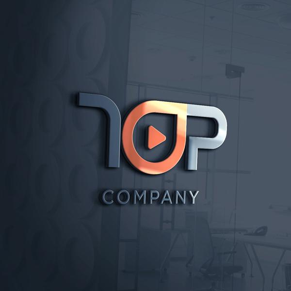 로고 + 간판   T.O.P COMPANY   라우드소싱 포트폴리오