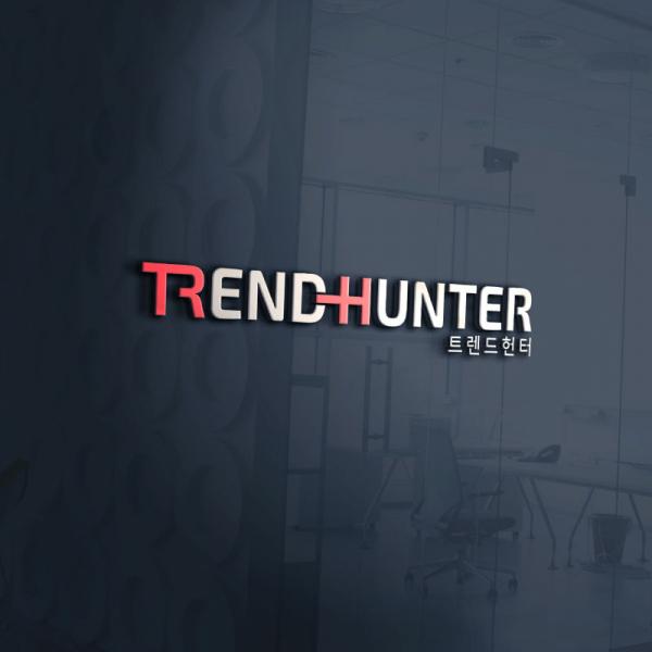 로고 디자인 | (주)트렌드헌터 CI 디자인 | 라우드소싱 포트폴리오