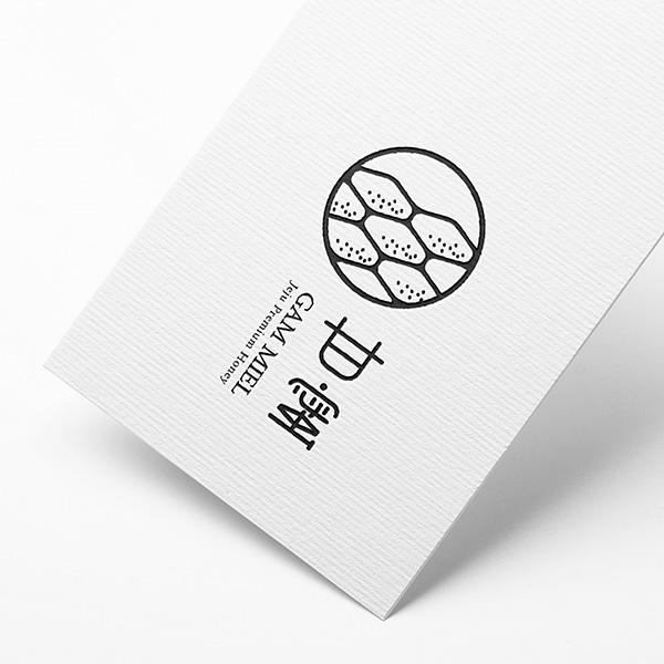 로고 + 명함   감밀   라우드소싱 포트폴리오