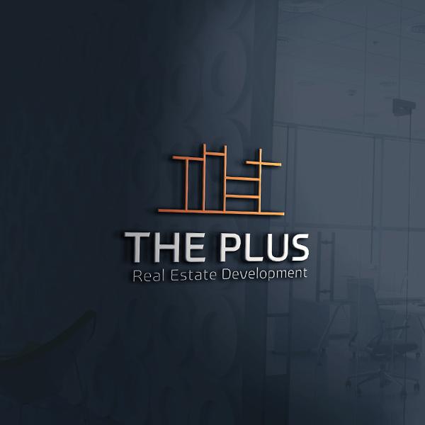 로고 + 명함 | The Plus RealEst... | 라우드소싱 포트폴리오