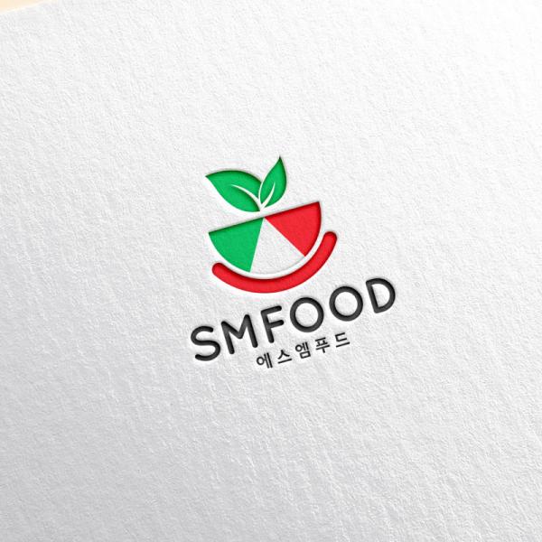 로고 + 명함   에스엠푸드   라우드소싱 포트폴리오