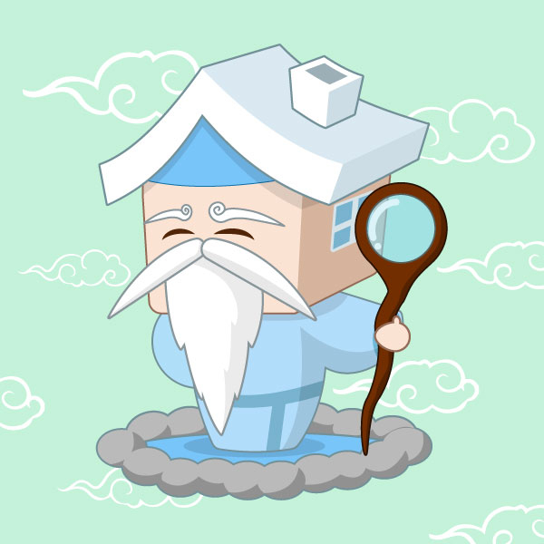 일러스트 | 부동산 전문가 캐릭터 (... | 라우드소싱 포트폴리오