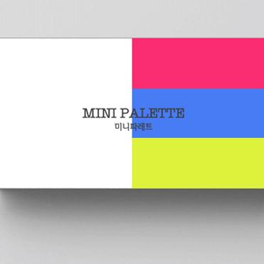 로고 + 명함 | 미니파레트 | 라우드소싱 포트폴리오