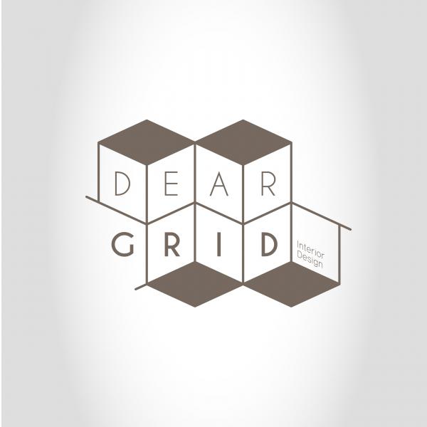 로고 + 명함 | Dear grid -회사... | 라우드소싱 포트폴리오