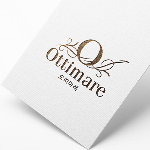 로고 + 간판   Ottimare 오띠마레   라우드소싱 포트폴리오