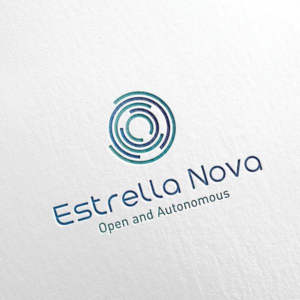 로고 + 명함   Estrella Nova   라우드소싱 포트폴리오