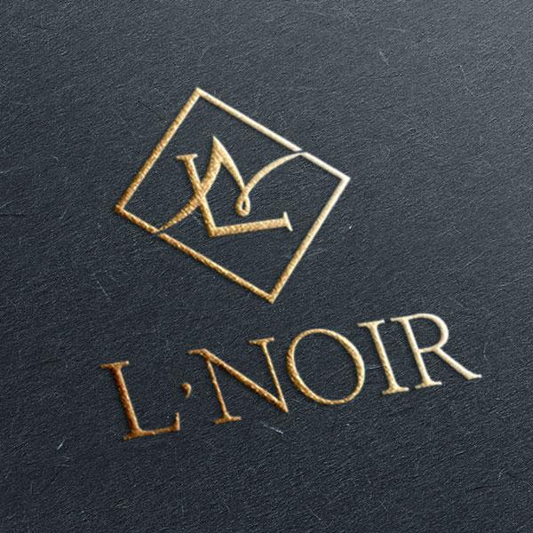로고 디자인 | L'NOIR (르누아) | 라우드소싱 포트폴리오