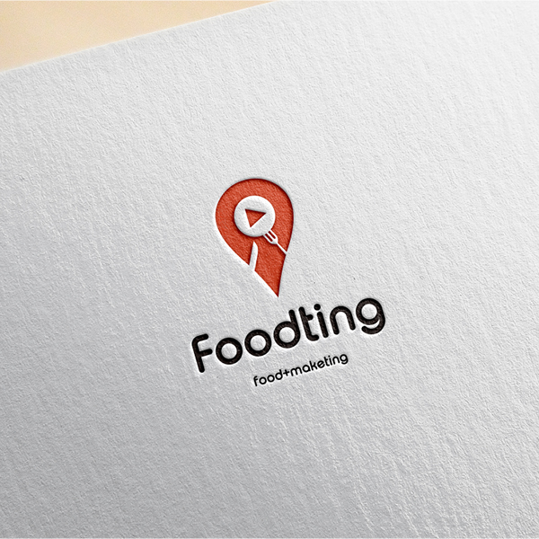 로고 디자인 | 푸드팅 로고 디자인 의뢰 | 라우드소싱 포트폴리오