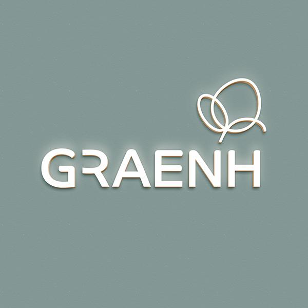 로고 디자인 | GRAENH | 라우드소싱 포트폴리오