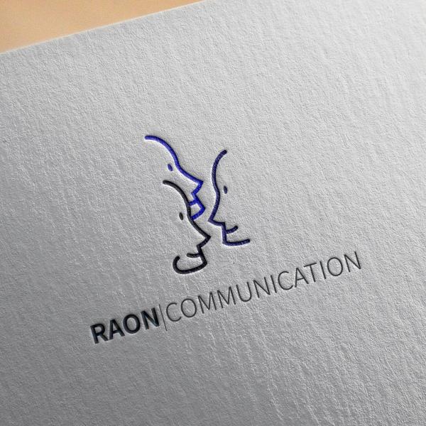 로고 + 명함   라온 커뮤니케이션   라우드소싱 포트폴리오